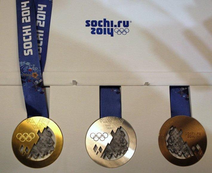 Sočio olimpinių žaidynių medaliai