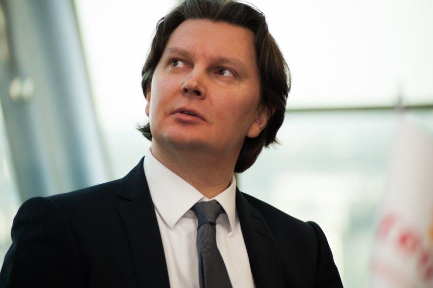 """""""Teo LT"""" generalinis direktorius Kęstutis Šliužas"""