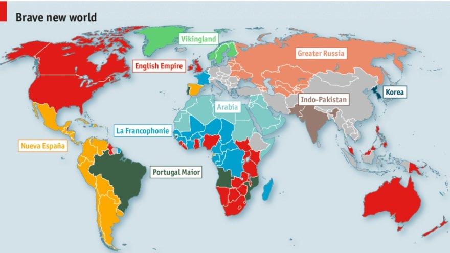 Žemėlapis, sudėliotas pagal V.Putino logiką