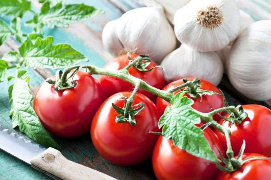 Kaip sulaukti gausaus pomidorų derliaus?