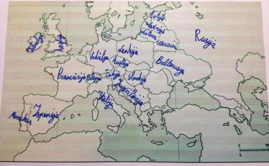 Lietuvių geografinės žinios
