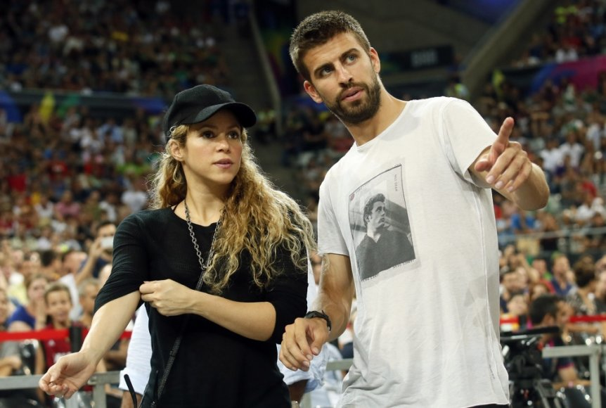 Shakira ir Gerardas Pique