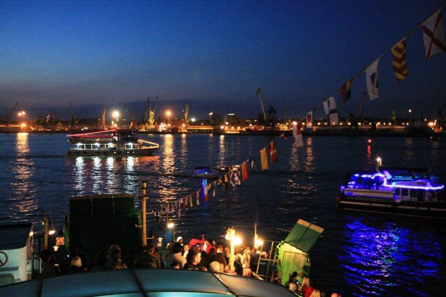 Laivų paradas Klaipėdoje