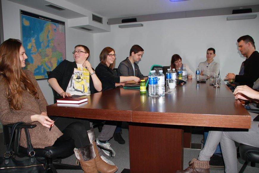 Projekto organizacinė komanda
