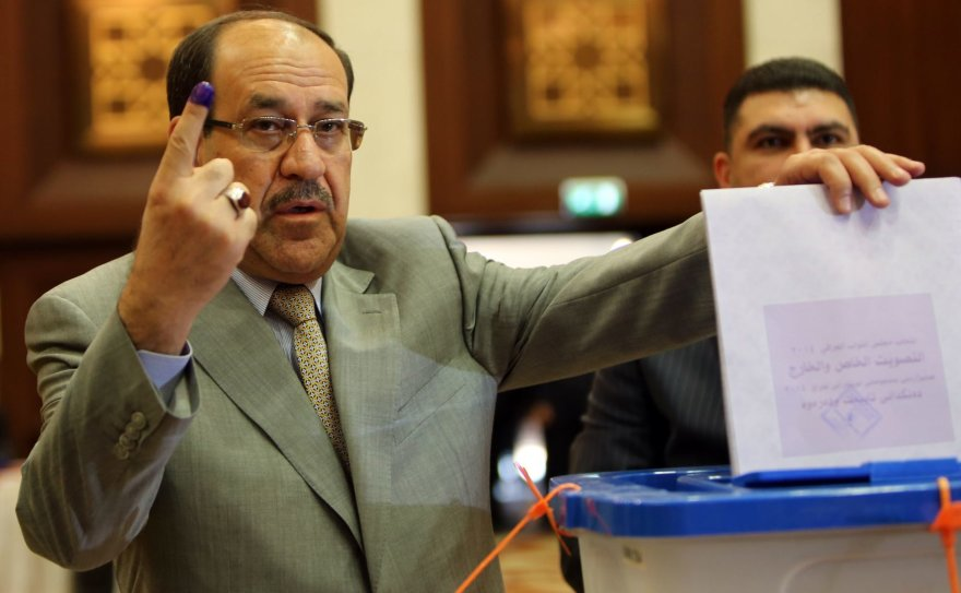 Irako ministras pirmininkas Nouri al-Maliki