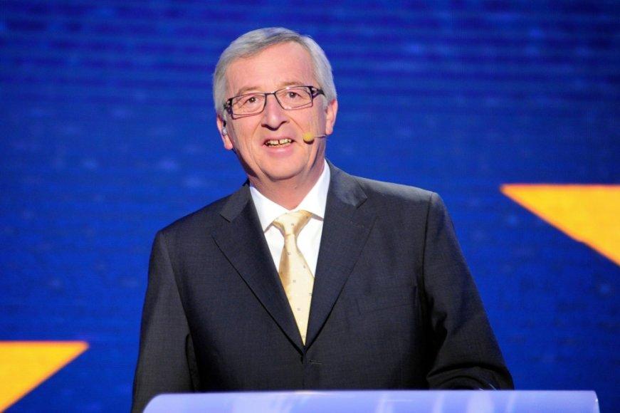 Konservatorių kandidatas, buvęs Liuksemburgo premjeras Jeanas Claude\'as Junckeris