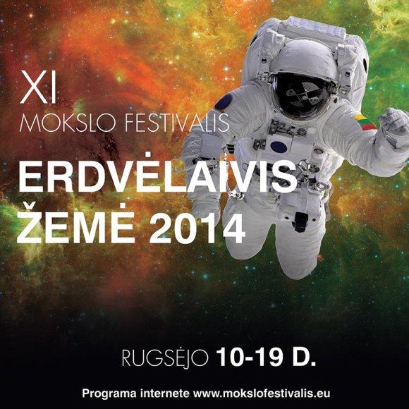 """Nacionalinis mokslo festivalis """"Erdvėlaivis Žemė"""" šiemet vyks 11-ą kartą"""