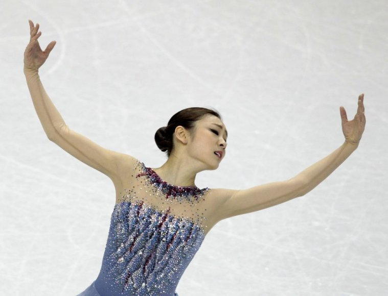 Yuna Kim sugrįžo po dvejų metų pertraukos