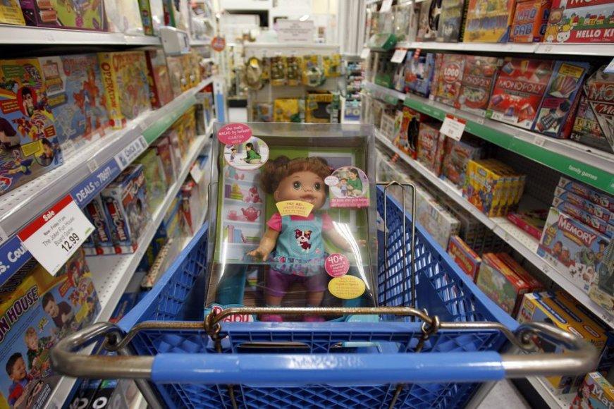 Žaislų parduotuvėje