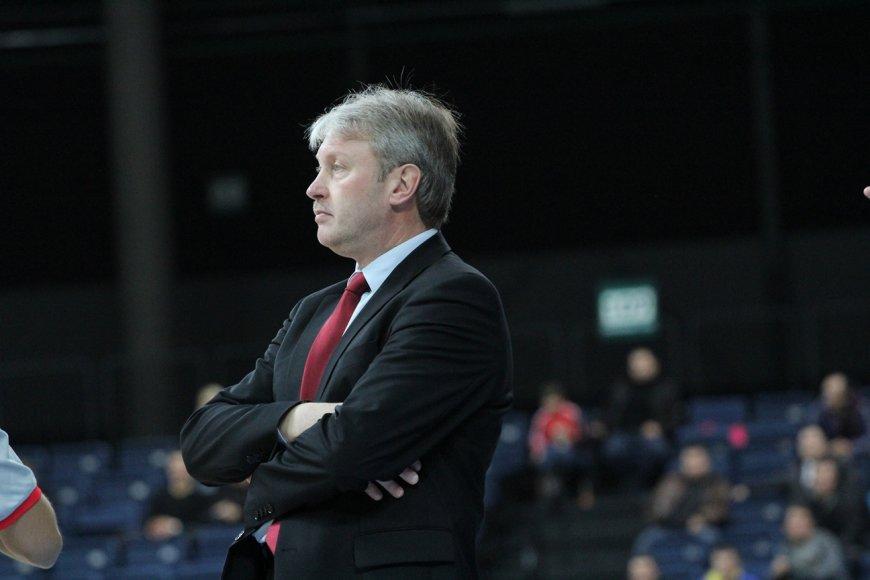 Treneris Algirdas Brazys