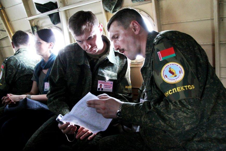 Baltarusių kariniai inspektoriai