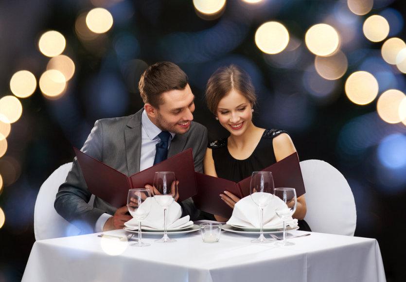 Vakarienė restorane