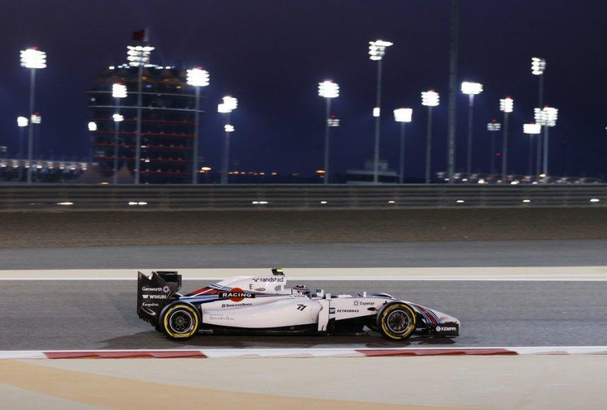 F-1 lenktynių Bahreine kvalifikacija