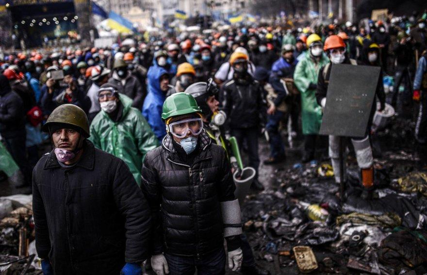 Protestuotojai Ukrainoje