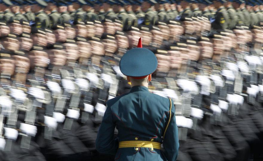 Generalinė repeticija prieš Vladimiro Putino inauguraciją