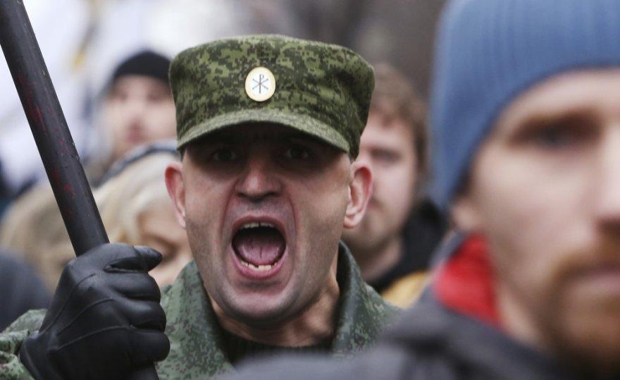 Rusijos nacionalistų eitynės Maskvoje