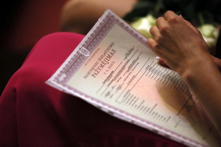 Pagrindinio išsilavinimo pažymėjimų teikimo šventė