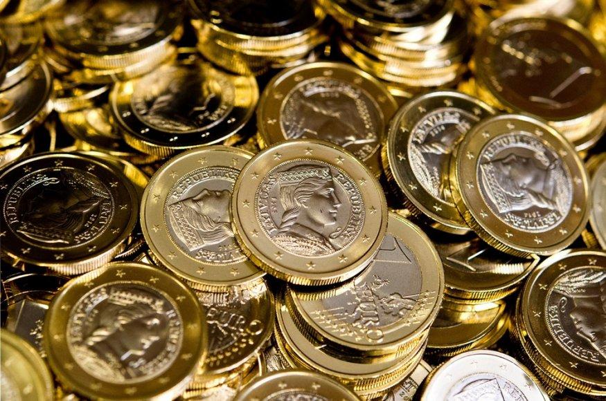 Latvijos eurų monetos