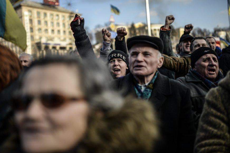 Kijevo Nepriklausomybės aikštėje