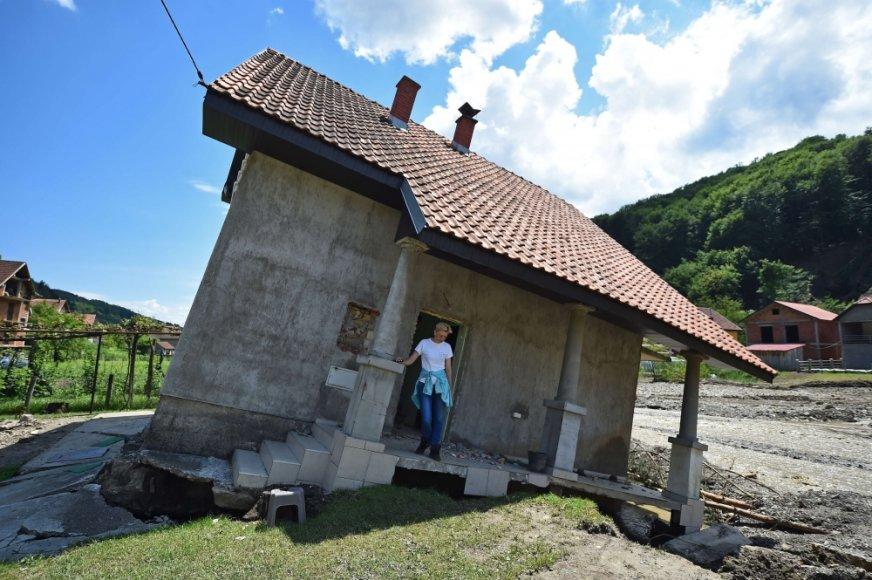 Potvynis Serbijoje