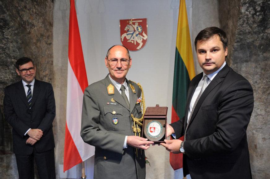 Naujai paskirtas Austrijos gynybos atašė Lietuvai – generolas majoras Antonas Oschepas.