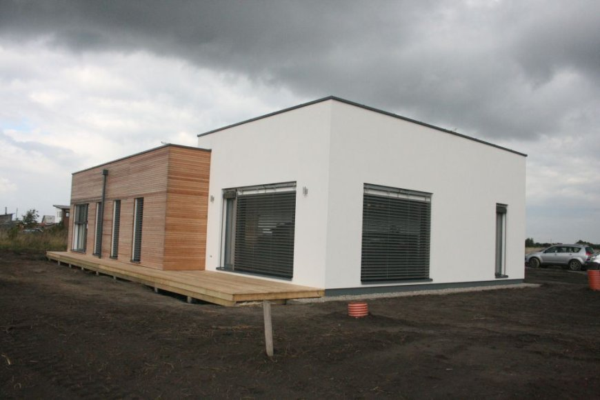 Klaipėdos rajone, Leliuose, pastatytas pirmasis regione energijos beveik nenaudojantis namas.