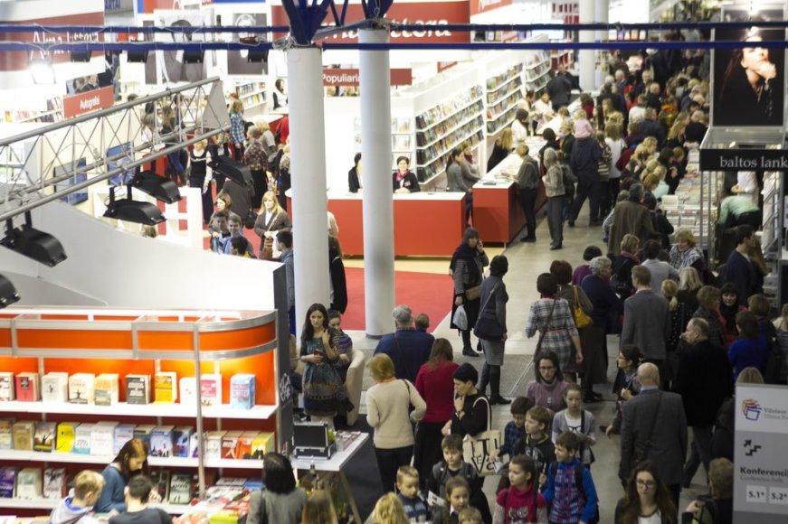 15-oji tarptautinė Vilniaus knygų mugė jau atidaryta.