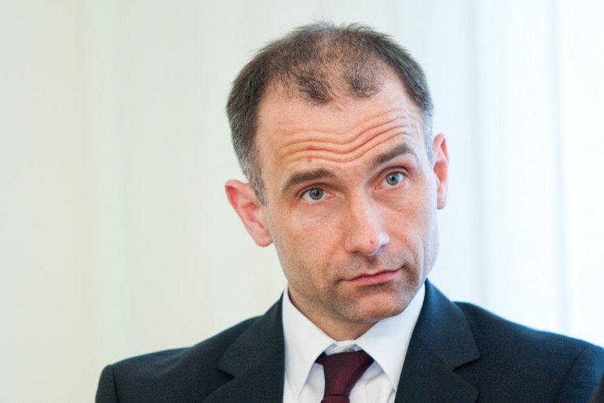 """""""Klaipėdos naftos"""" generalinis direktorius Rokas Masiulis"""