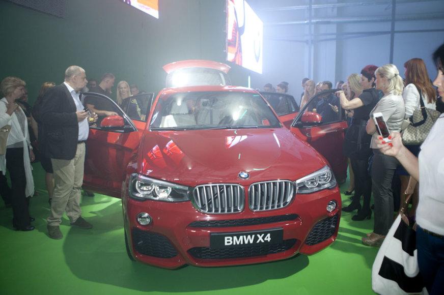 BMW X4 pristatymas Vilniuje