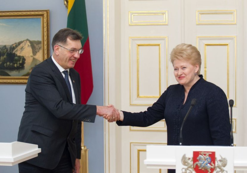 Algirdas Butkevičius ir Dalia Grybauskė