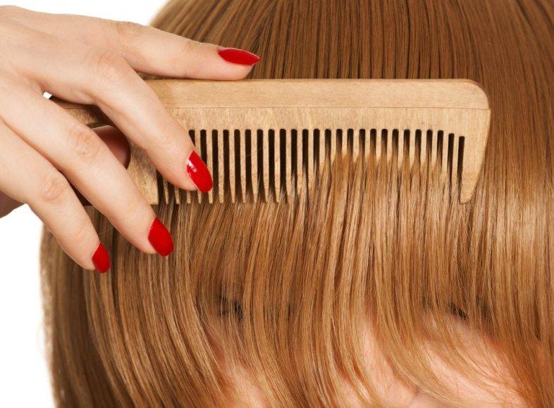 Plaukų šukavimas
