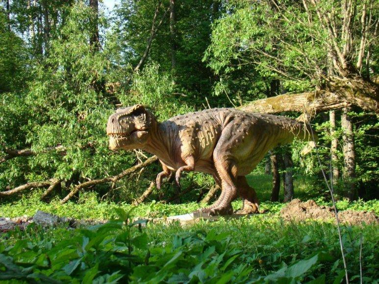 Klaipėdos rajone bus atidarytas dinozaurų parkas.