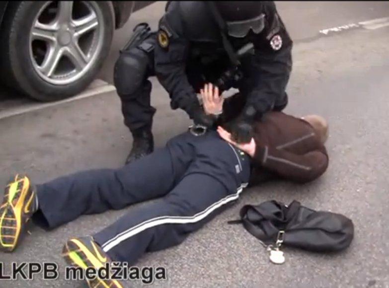 Įtariamojo sulaikymas