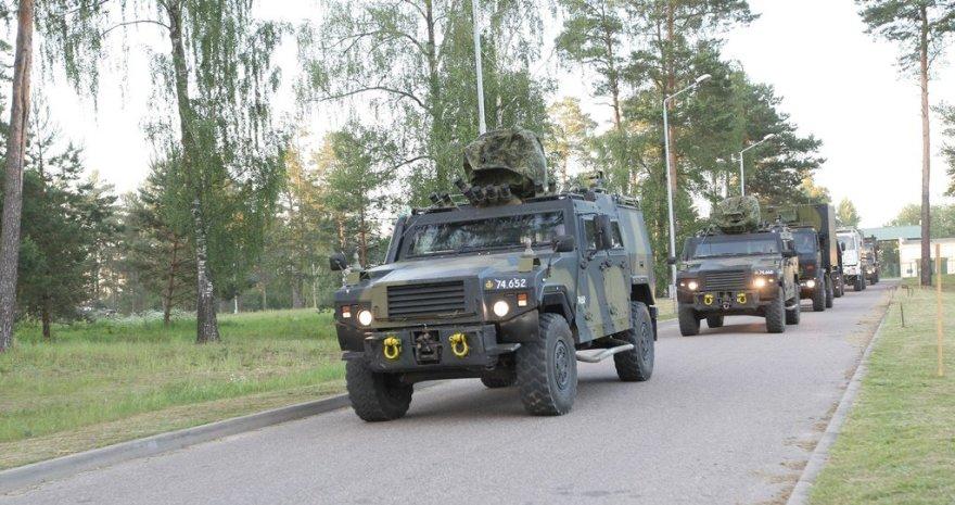 NATO stiprina sausumos pajėgų buvimą Lietuvoje: atvyksta Danijos kariai