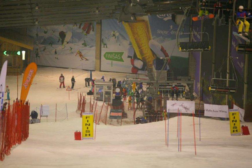 Druskininkuose vyksta Baltijos taurės kalnų slidinėjimo varžybos