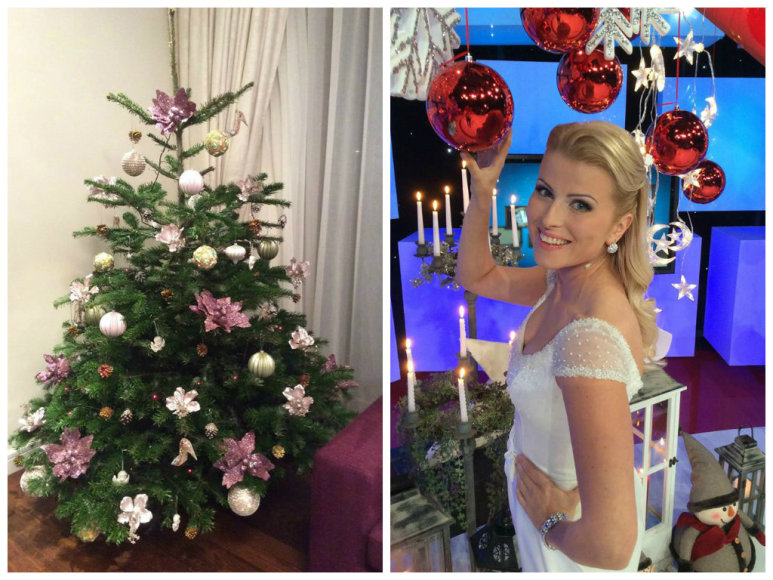 Rūta Mikelkevičiūtė ir jos Kalėdų eglė