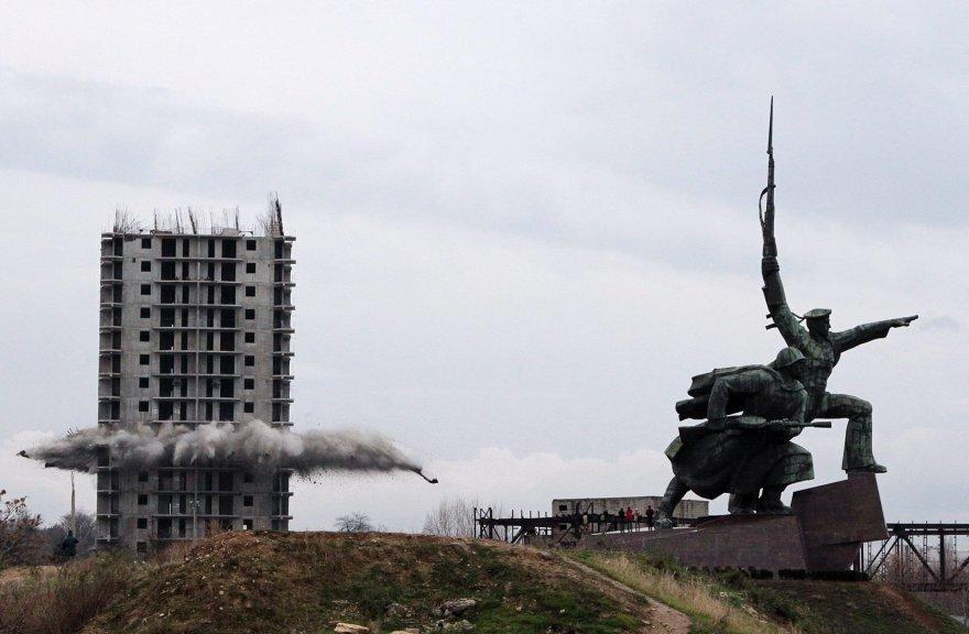 Daugiabučio sprogdinimas Kryme