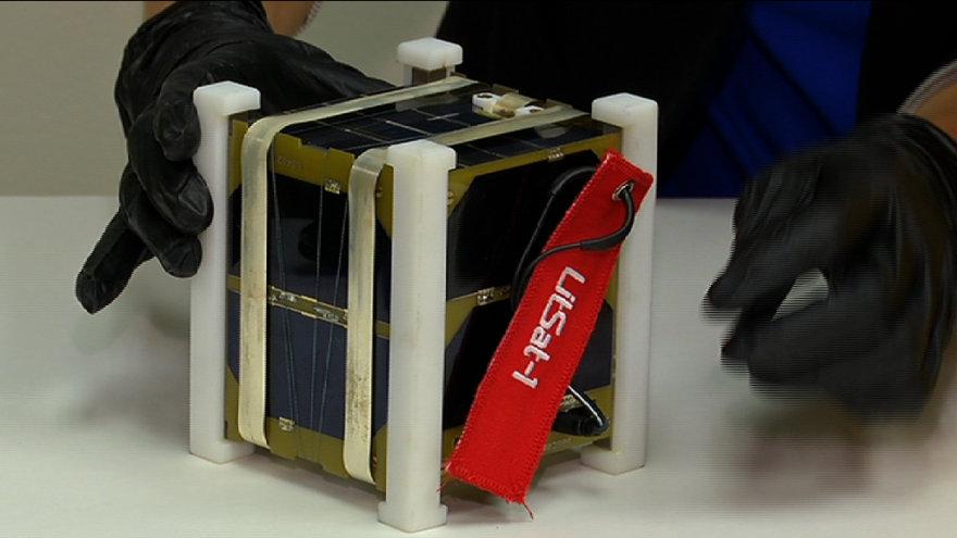 """LitSat-1"" tikrinamas Hjustone"