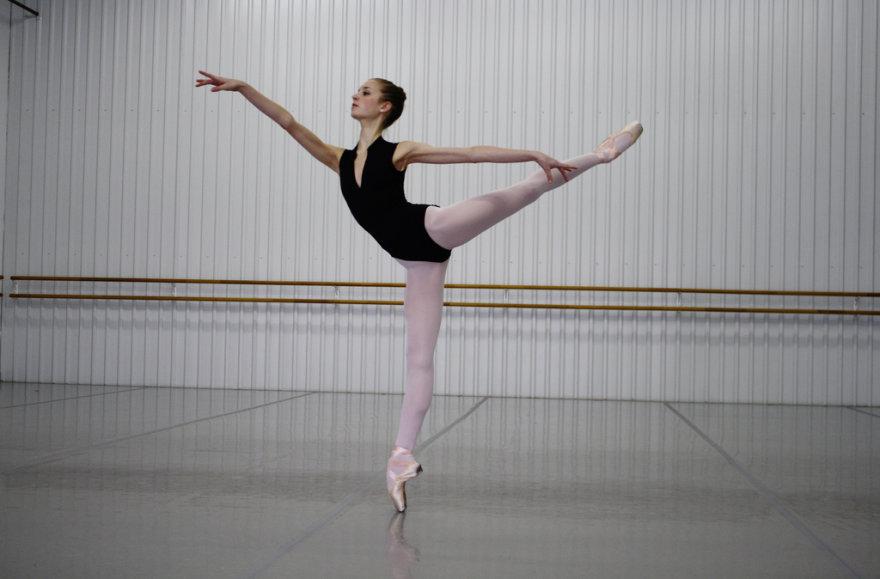 Norisi turėti balerinos kojas...