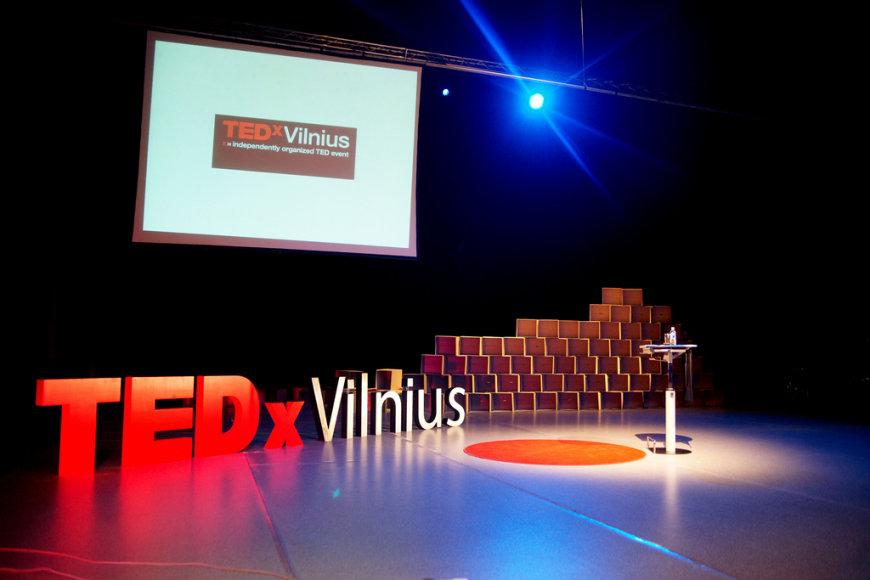 TEDxVilnius logotipas