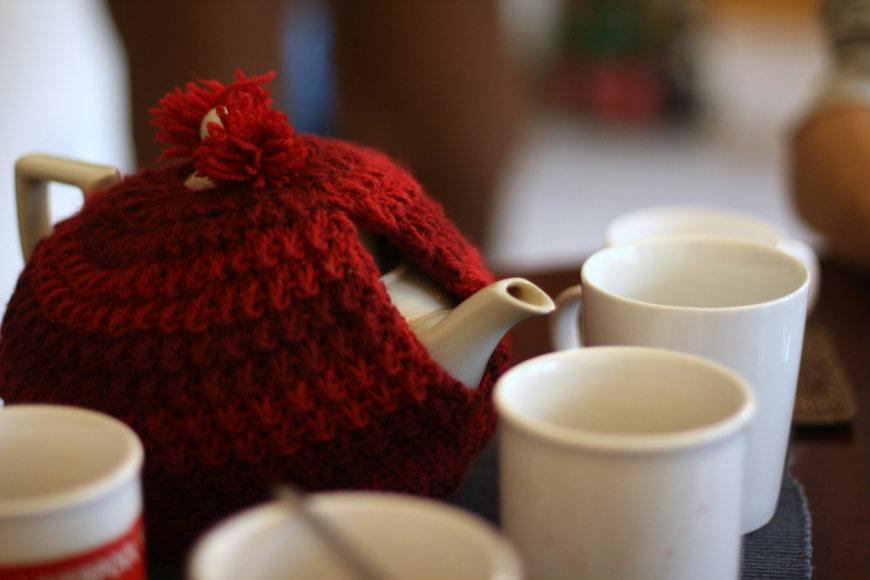 Dažnai gydomasi žolelių arbatomis