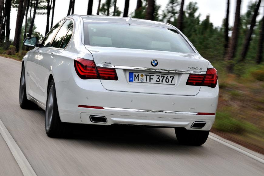 Septintosios serijos BMW