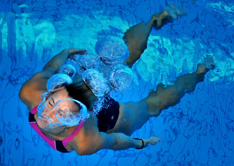 Išmokti plaukti niekada ne vėlu