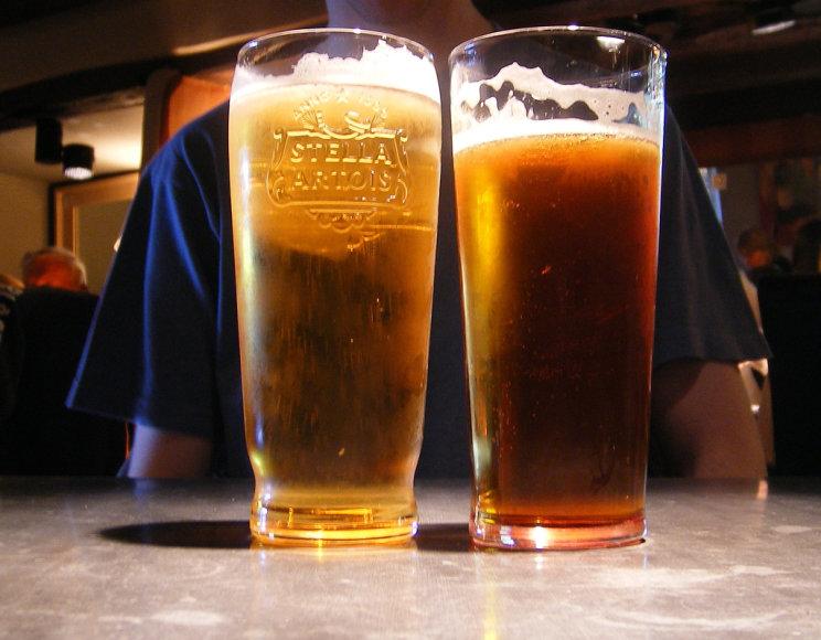 Ar iš tikrųjų pilvas auga nuo alaus?