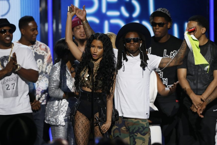 Nicki Minaj ir Lil Wayne'as