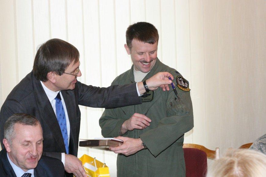 Šiaulių meras ir NATO