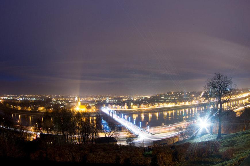 Kaunas nuo apžvalgos aikštelės