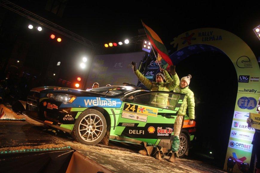 """""""Rally Liepaja"""" atidarymas"""