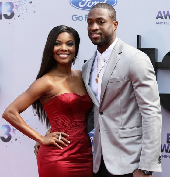 Gabrielle Union ir Dwyane'as Wade'as
