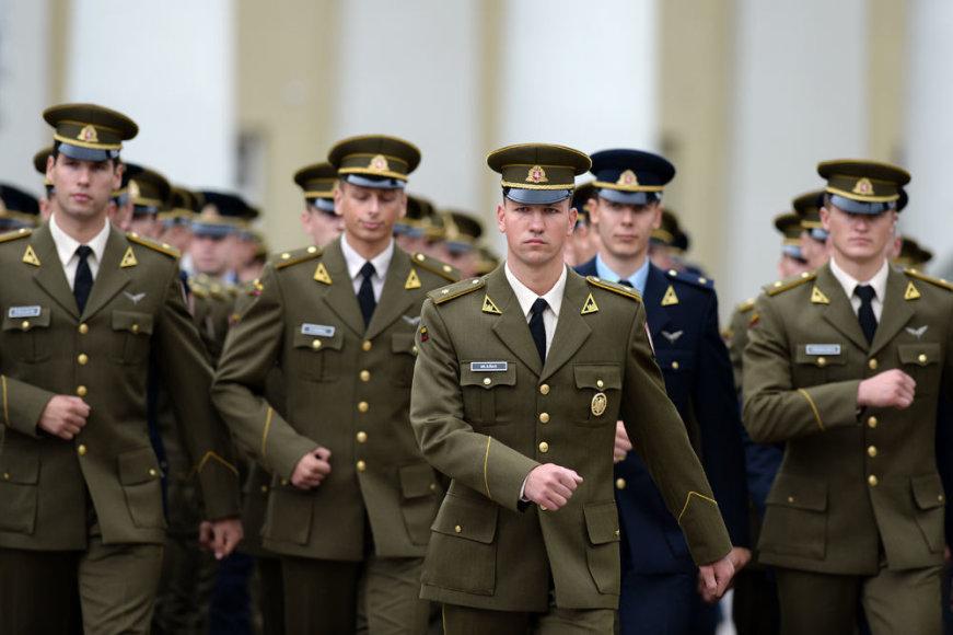 Karininkai prisiekė Lietuvai